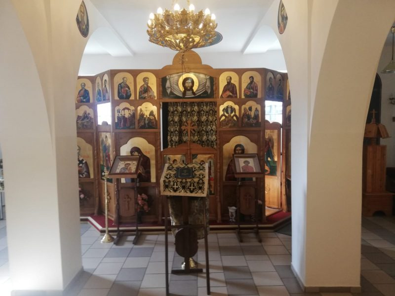 Capela Militară Sf. Mare Mucenic Gheorghe MaPN Brigada 2 Vânători de Munte Sarmizegetusa (1)